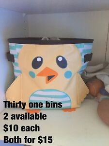 Thirty one bins