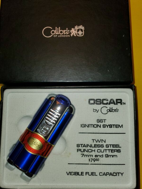 Colibr Oscar Cigar Quantum Torch Lighter W/2 Punches