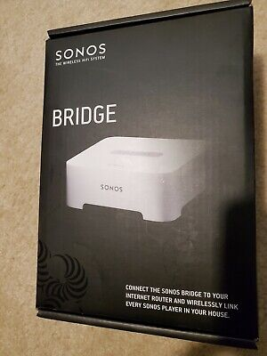 Sonos Bridge White Sonos Wireless Network SW v3.3 BRIDGUS1 - FACTORY SEALED!