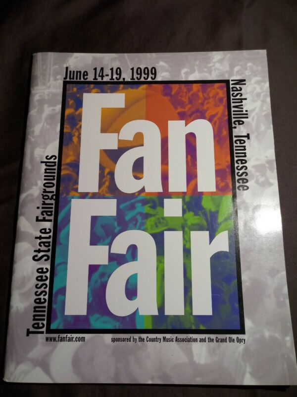 Nashville tennessee Fanfare 1999 Book/ Magazine /Program