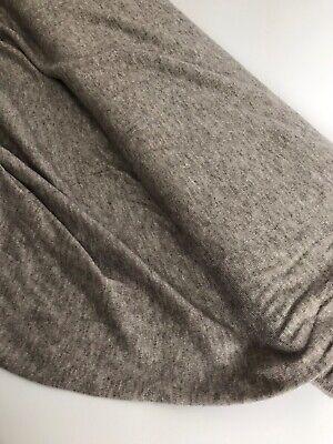 Lightweight Sweater Jersey Knit Fabric Viscose - Taupe