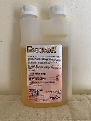 Exciter Profesional Insecticida 6% Piretrina 473ml Concentrado Ants Pulgas Roach