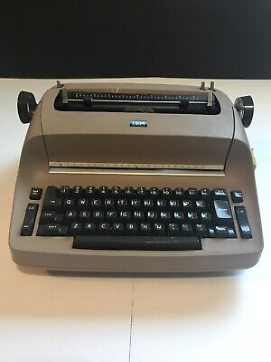 Ibm Selectric Electric Type Writer Model 71 It Works Needs To Be Serviced