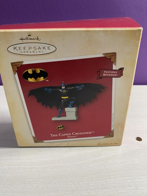 Batman The Caped Crusader Hallmark Keepsake Ornament 2004
