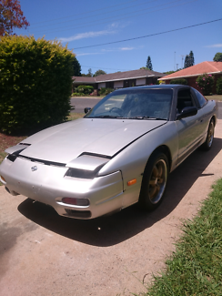 Nissan 180sx SR20DET. (Will swap for a commodore v8 manual Ute).
