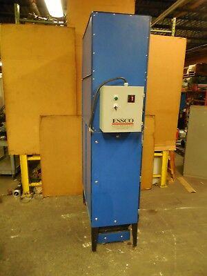 Essco Sdc-1 3hp Vertical Dust Collector 208-230460v 3ph 8-12