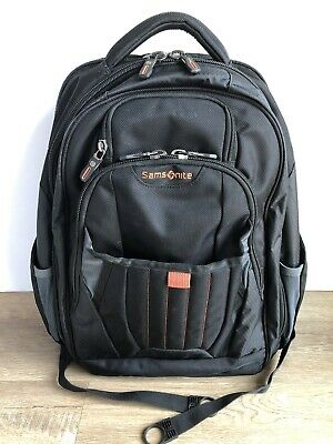 Samsonite Tectonic 2 Large Backpack Business & Laptop Backpack Black Orange