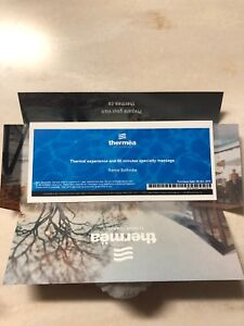 Thermea gift certificate