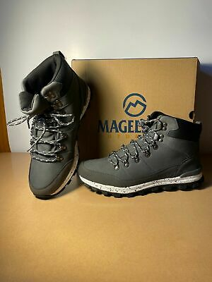 Magellan Dempsey Boots Hiking Boots shoes Men's Grey White - Various Sizes Grey Hiking Boots