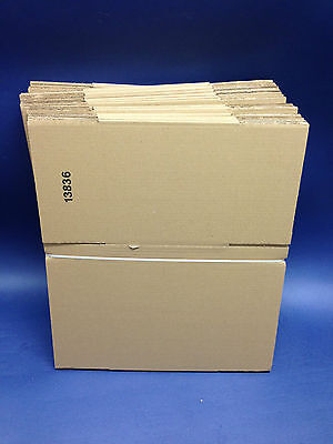 50 - 12 x 9 x 9 / 305 x 228 x 228mm STRONG SINGLE WALL CARDBOARD BOXES FREE 24h