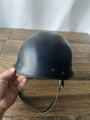 Vintage Hard Hat Military 1960s Plastic N37