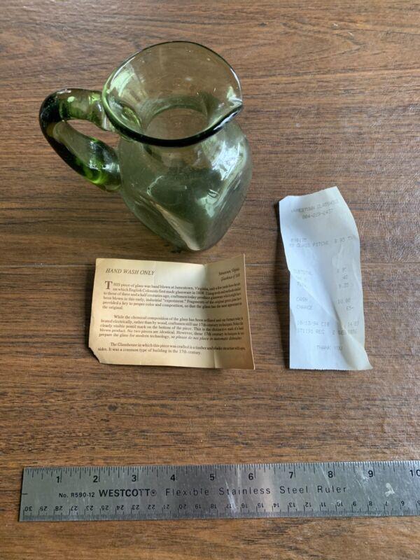 Jamestown Glassware - Pitcher NWT