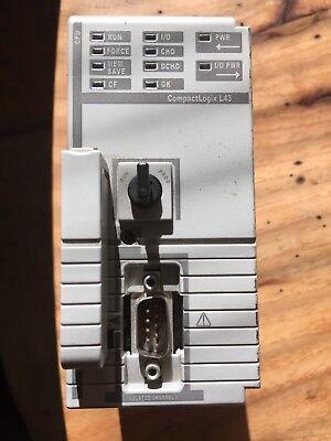 Allen Bradley Compactlogix 5343 Processor Unit 1768-l43b