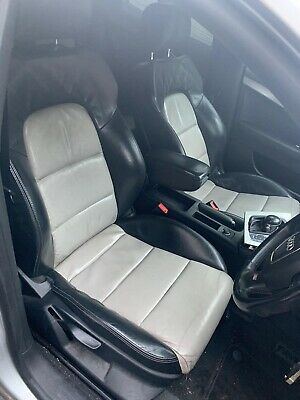 Audi S3 A3 RS3 Sline Full Heated Leather Seats 8P Sportback Full Set White Black