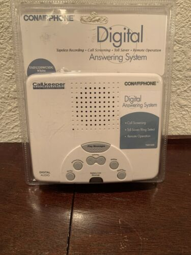 Conair TAD1220WCS Digital Answering Machine