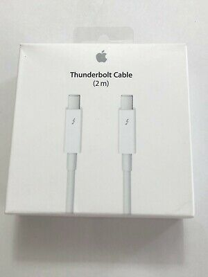 Authentic Apple Thunderbolt Cable 2M White MD861LL/A
