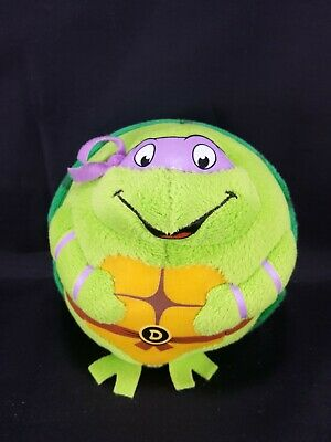 Ninja Turtles Ty Beanie Balls Green Stuffed Plush Animal Toy Donatello - Ninja Turtles Stuffed Animals