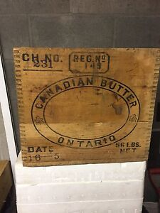 Antique Butter Box