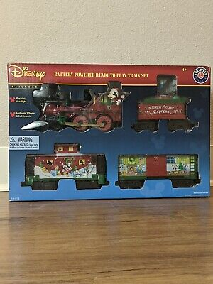 Disney Mickey Mouse Express Battery Powered Ready To Play Train Set by Lionel
