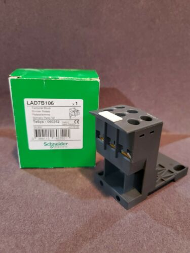 Square D Schneider Electric LAD7B106 IEC Overload Relay Mounting Kit New In Box