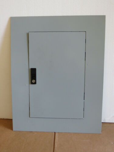 """GE AF25SN A-Series II Surface Panelboard Breaker Panel Front Cover Trim 25"""" Key"""