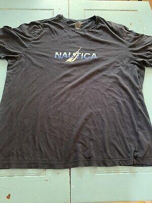 Nautica Men's Size XL Navy Blue Short Sleeve T-Shirt