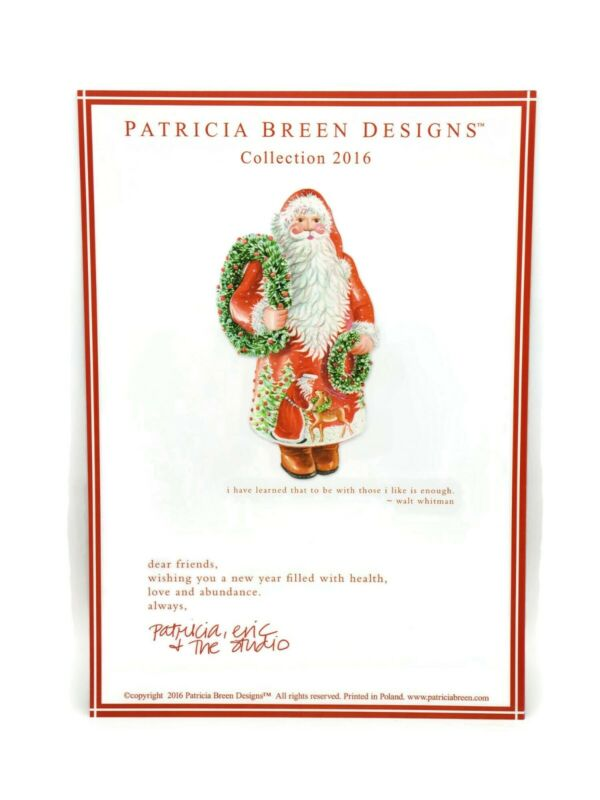 Patricia Breen Catalog Christmas Fall Holiday Ornament Designs 2016