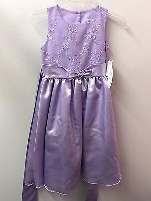 Sweet Pea Wedding Flowers - Sweet Pea & Lilly Dress 7 Purple NWT Flower Girl Wedding