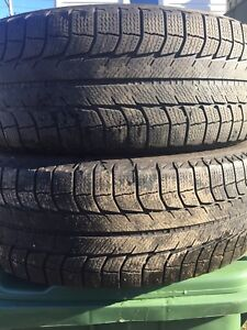 p235/60/18 inch Michelin Winter Tires / GOOD DEAL
