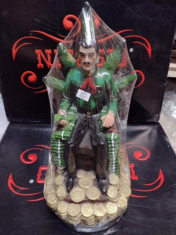 Jesus Malverde Statue, Sinaloa Figurine Mexico Estatua hecho en mexico