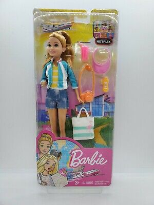 Barbie Core Travel Doll Stacie DreamHouse Adventures - New in Package Rare