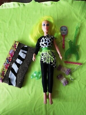 Pizzazz Doll Jem And The Holograms Hasbro The Misfits vintage 80s