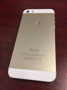 Iphone 5S  gold 16 gig chatr/rogers
