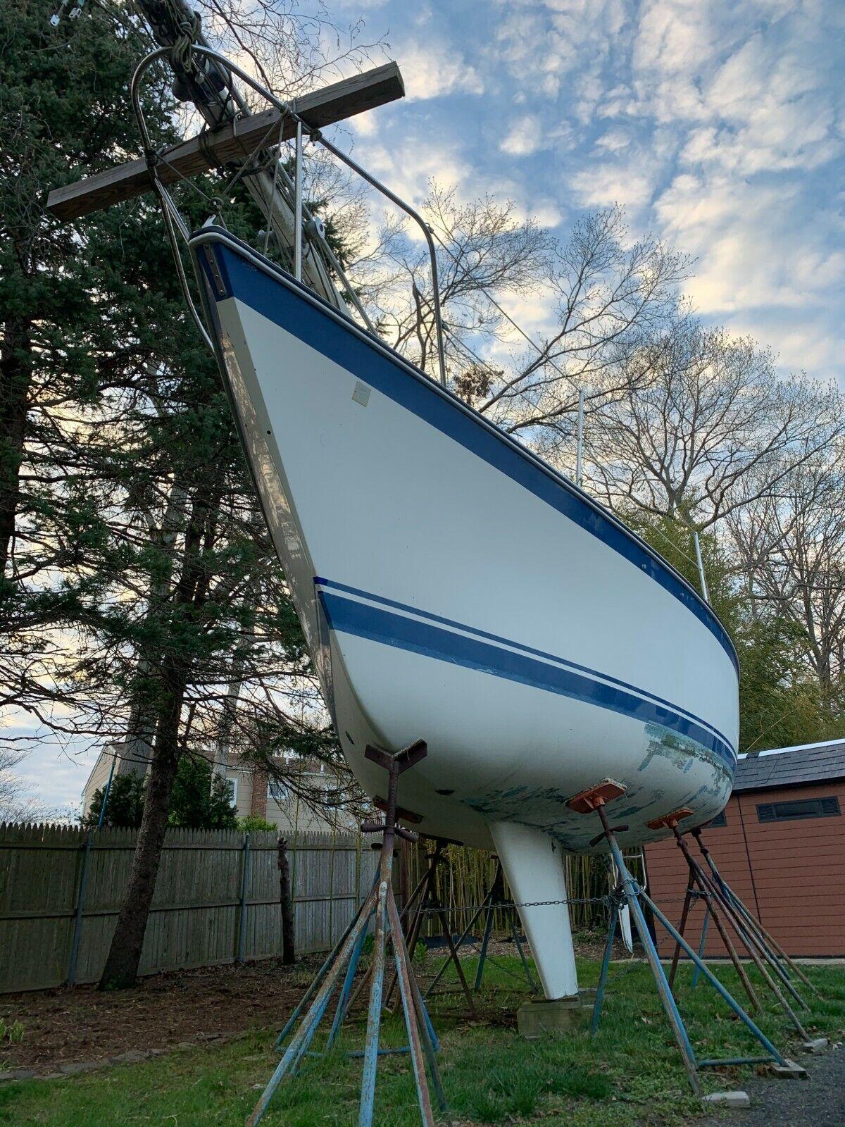 1980 O`Day 28 ft  Sailing Boat Long Island New York