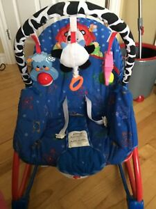 Fisher-Price newborn to toddler rocker/vibrating chair