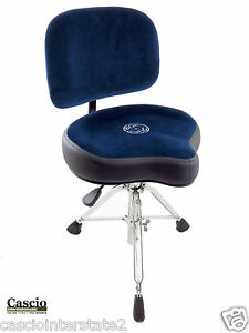 roc n soc nrob nitro blue drum throne w original seat plus backrest ebay. Black Bedroom Furniture Sets. Home Design Ideas