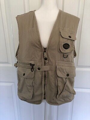 1145e0d465c51 Mens Tweed River Outfitters Hunting Fishing Guide Vest XL Photographer