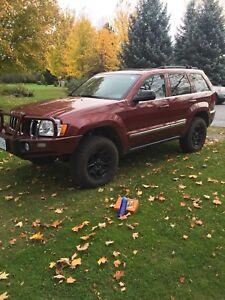 Diesel 2007 Grand Cherokee limited 7200lb towing capacity