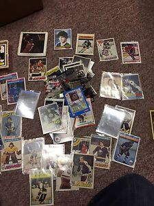 Entire lot of hockey cards