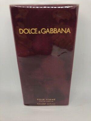 DOLCE&GABBANA POUR FEMME 3.3 / 3.4 FL oz / 100 ML Eau De Parfum Spray Sealed