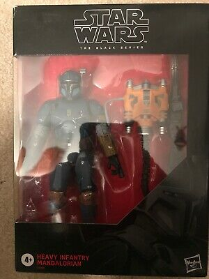 STAR WARS BLACK SERIES BEST BUY EXCL HEAVY INFANTRY MANDALORIAN ACTION FIGURE