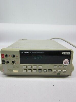 Fluke 45 Dual Display Multimeter 5-digit Bench Top Meter