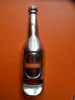 Ouvre bouteille CORDINO - Métal argenté - TRES RARE - Pour collection - 4 photos