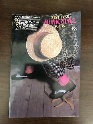 BEST EVER MUSICAL SONGS - ELECTRONIC KEYBOARD MUSIC - HAL LEONARD -