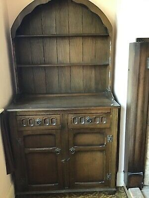 Dark wood small Welsh Dresser