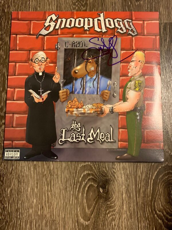 Snoop Dogg Signed Autographed 'The Last Meal' Album Vinyl Record! HOT!