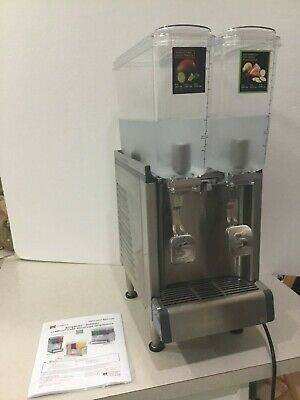 Crathco Cs-2e-16 Refrigerated Drink Dispenser 2 2.4 Gallon 9l Bowls Agitation