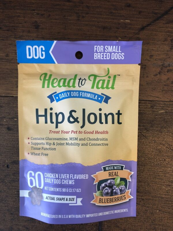 Head To Tail Hip And Joint Formula Small Breed Dogs
