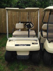 Golf cart gas