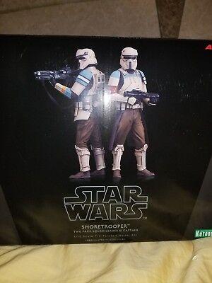 ARTFX+ Star Wars ROGUE ONE SHORETROOPER 2 PACK 1/10 PVC Figure Kotobukiya NEW